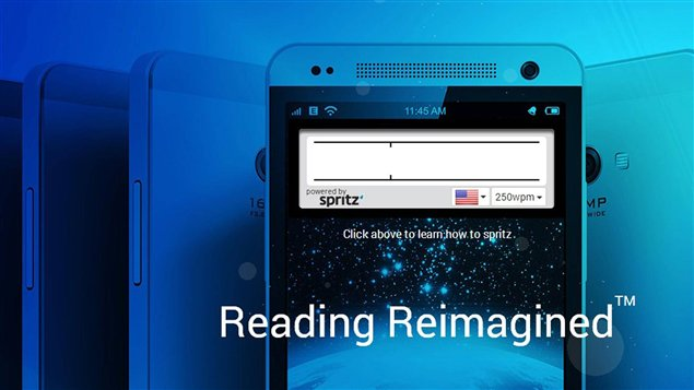 L'application Spritz permet de lire à une vitesse record