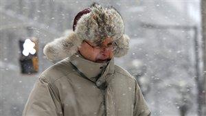 Février commence dans le froid et la neige