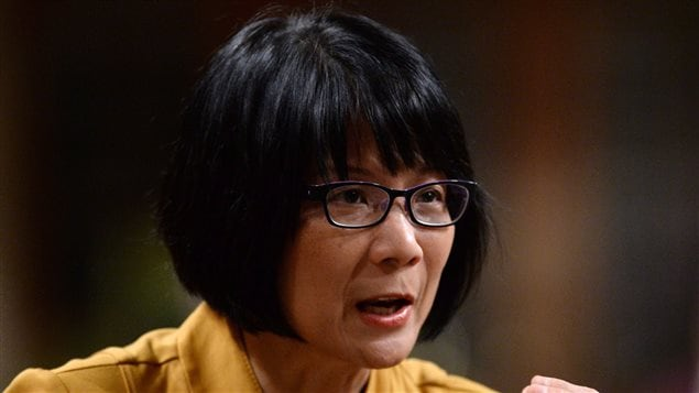 La députée à la Chambre des communes Olivia Chow