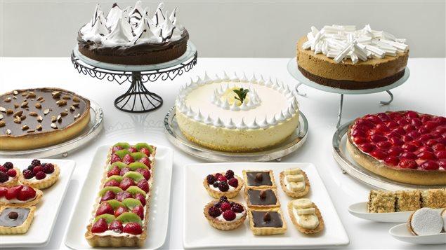 Une multitude de desserts