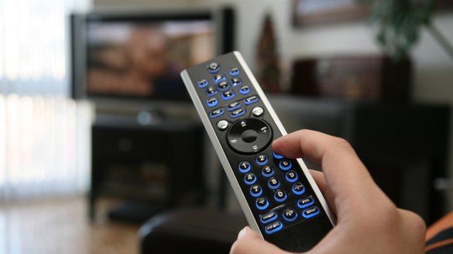 Manette de télévision