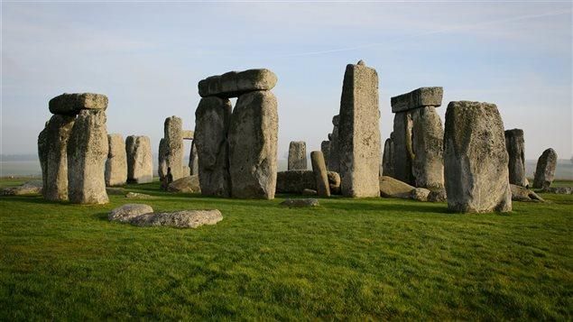 Le site de Stonehenge, en Angleterre