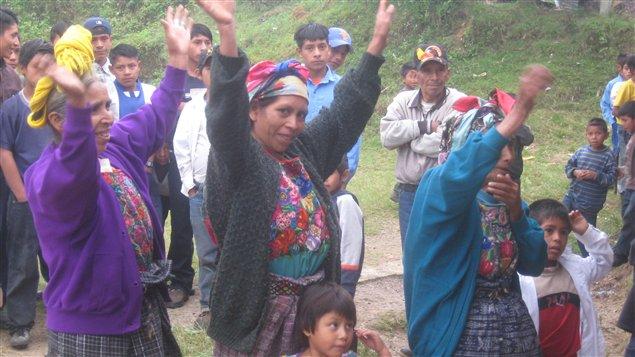 Consulta comunitaria en Guatemala