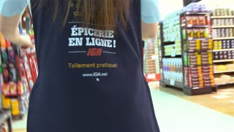 Très populaire en Europe, l' épicerie en ligne n'est pas encore répandue au Québec.