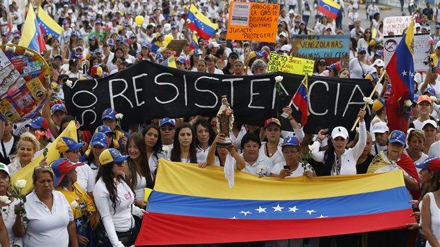 Resultado de imagen para manifestacion venezuela