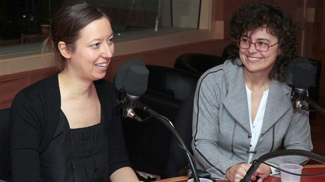 Les chefs d'orchestre Mélanie Léonard et Véronique Lacroix