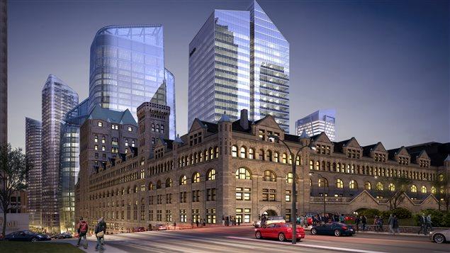 Immobilier 3 milliards pour le centre ville de montr al for Chambre de la jeunesse montreal