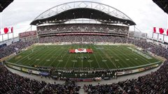 Le stade Investors Group Field de Winnipeg.