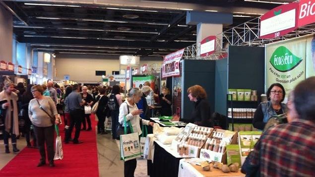 La popularité de l'Expo manger santé et vivre vert