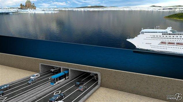 Levis (QC) Canada  City pictures : Une nouvelle étude réclamée pour un tunnel entre Québec et Lévis