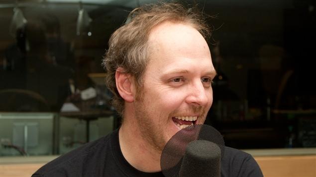 L'auteur, comédien et chroniqueur Fabien Cloutier.