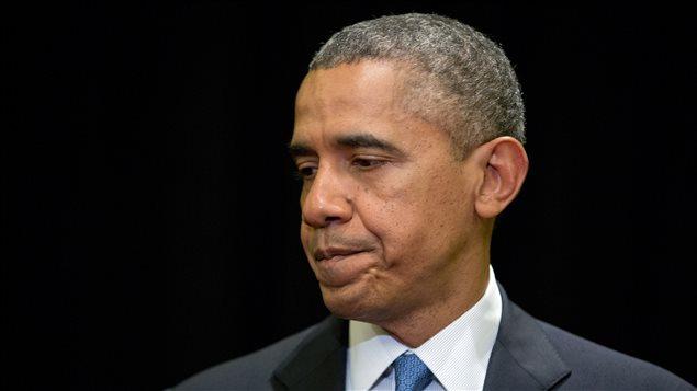 Le président Obama ému des événements survenus à Fort Hood.