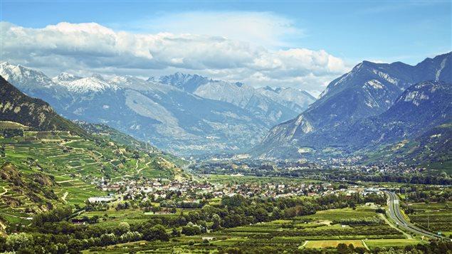 Le Valais en Suisse