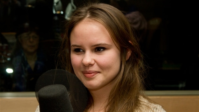 La chroniqueuse, blogueuse, réalisatrice et conférencière Léa Clermont-Dion.