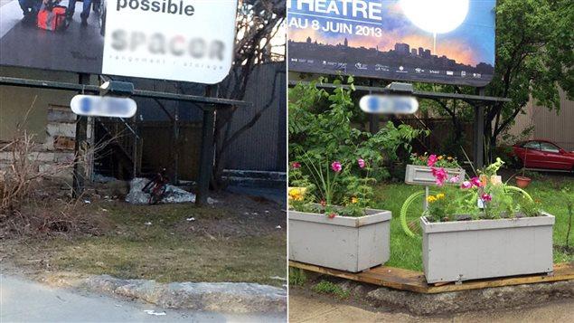 Un coin du quartier Saint-Roch, à Québec, avant et après sa revitalisation