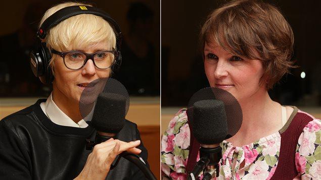 P�n�lope McQuade et Catherine-Emmanuelle Delisle