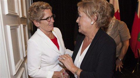Premier ministre qui rencontre pauline marois
