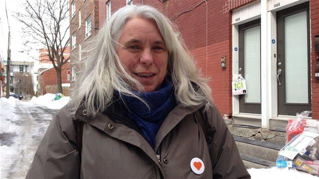 Manon Massé, la troisième députée élue de Québec solidaire