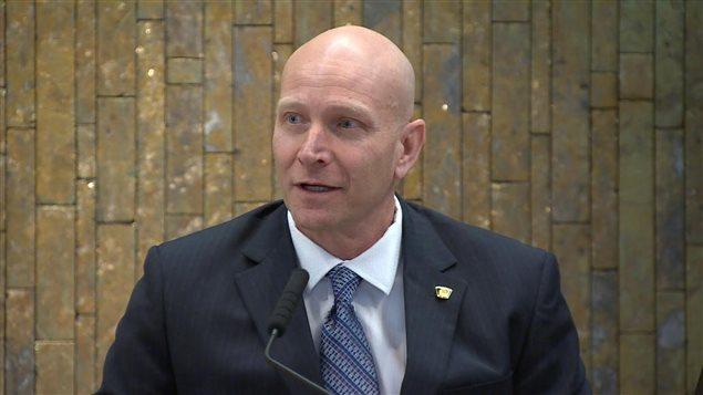 Le chef de la police de Sudbury Paul Pederson