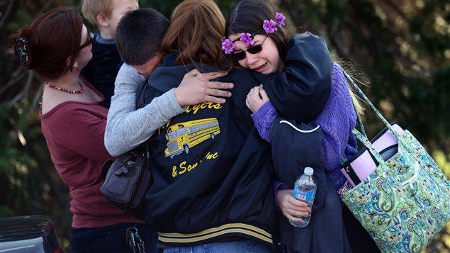 Des parents et des élèves sous le choc après la terreur semée à l'école Franklin