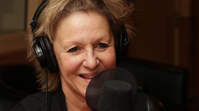 Lorraine Pintal, lors d'un passage à Médium large