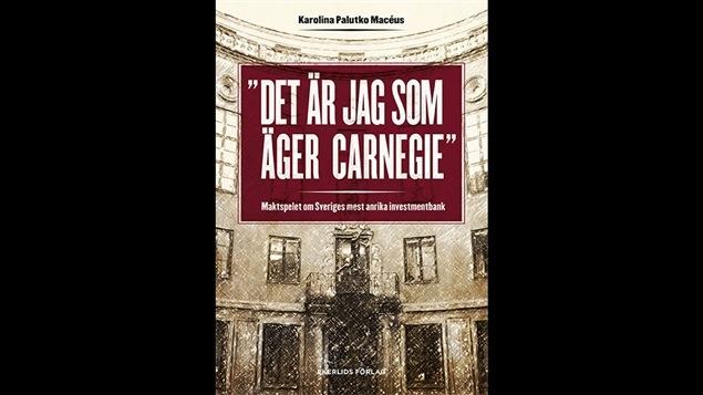 Couverture de la version originale de <i>Posséder la magie : le jeu de puissance de la plus prestigieuse banque d'investissement de la Suède</i>, de Karolina Palutko Macéus, publié aux éditions Ekerlids Förlag.