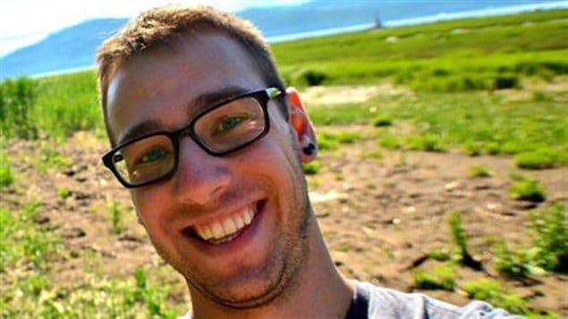 Olivier Samson-Robert, étudiant en maîtrise à l'Université Laval.