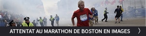 Attentat au marathon de Boston en images