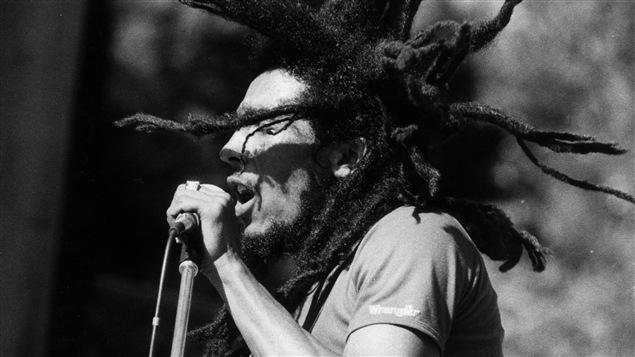 Bob Marley le 1er janvier 1980