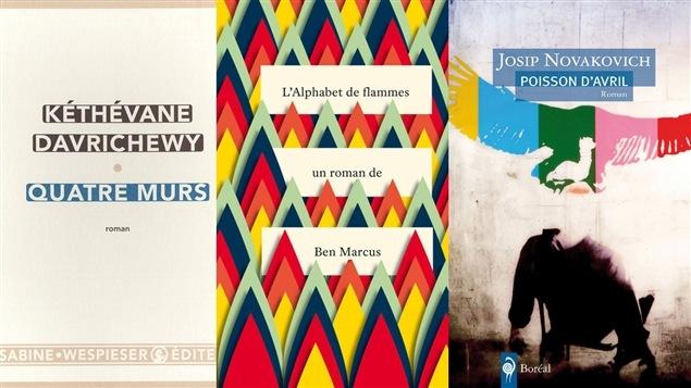 Les couvertures des livres abordés au club de lecture.