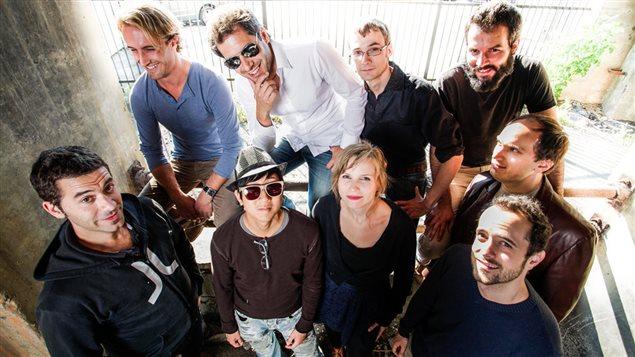 Les membres du groupe Collectif9