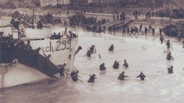 Images du débarquement de Normandie