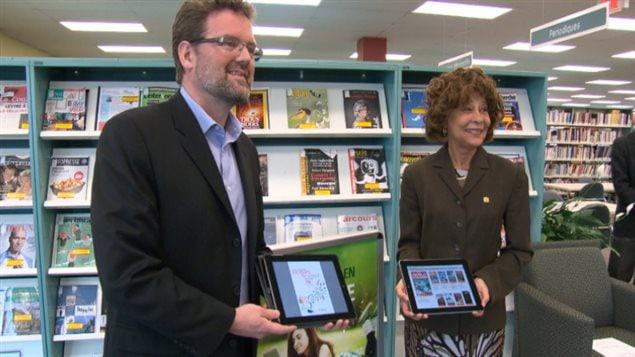 Lancement en avril dernier du service d'emprunt de livres numériques de la bibliothèque de la petite ville de Gatineau au Québec. Giflées par les assauts du numérique, nos bibliothèques mais aussi certaines de nos librairies donnent des signes d'essoufflements.
