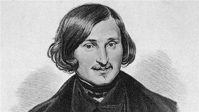 L'auteur Nicolas Gogol en 1845.