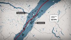 Les scientifiques de Pêches et Océans sont inquiets du projet de déviation du trafic maritime au sud de l'estuaire.