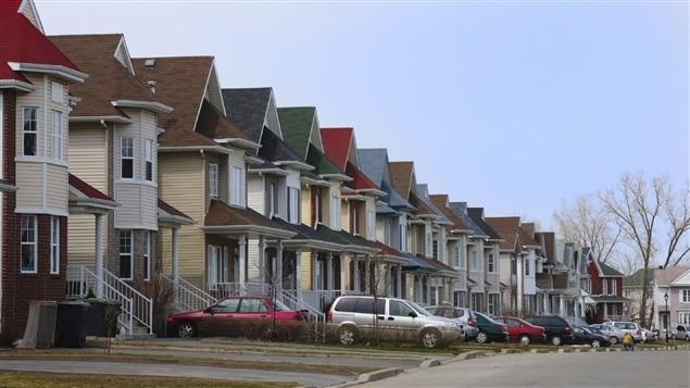 Un quartier typique de classe moyenne.
