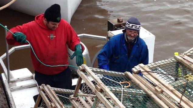Pêcheurs de homards
