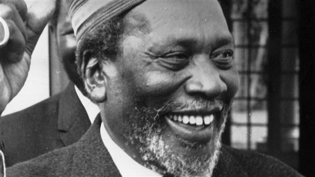 Le premier président kényan, Jomo Kenyatta, vers 1960.