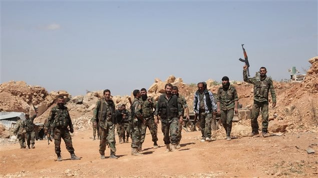 Des soldats de l'armée syrienne (archives)
