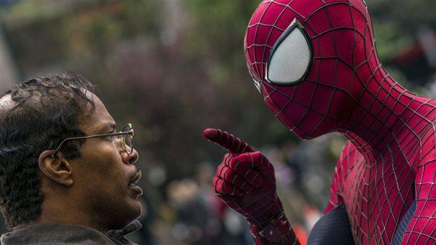 Image tirée de <i>L'extraordinaire Spider-Man 2</i>.