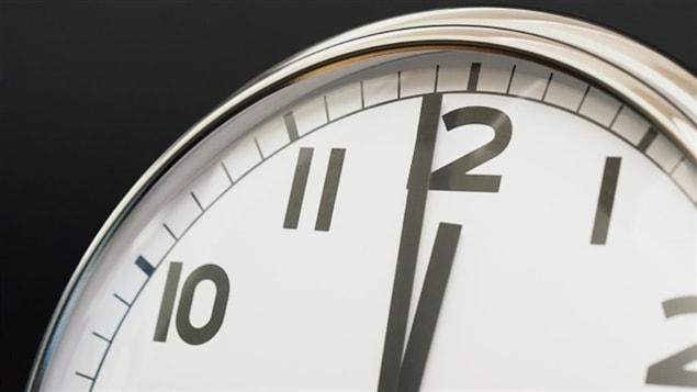 Une horloge
