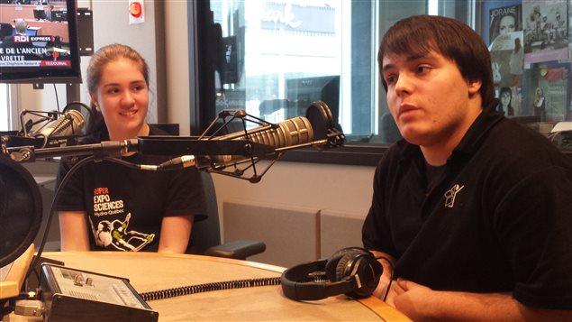Charlène Grégoire et Olivier Bédard-Lapointe