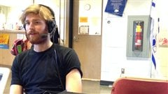 Virgile Dean, réalisateur de la documentation de la Grande traversée.