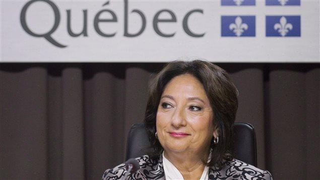 La juge France Charbonneau présidait la commission.