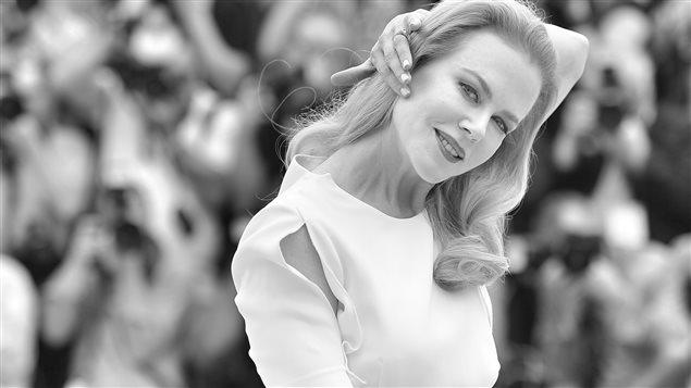 L'actrice Nicole Kidman au Festival de Cannes 2014. Le film « Grace de Monaco », dans lequel elle tient le rôle principal, a été choisi comme film d'ouverture du festival.