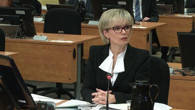 Julie Boulet à la commission Charbonneau