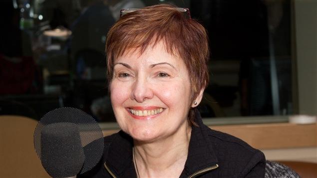La poète, romancière, dramaturge et essayiste Louise Dupré.