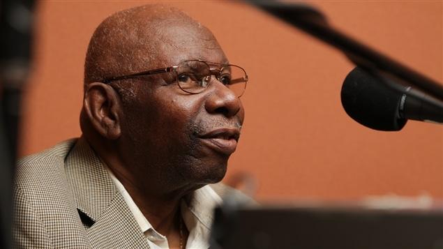Le pianiste Oliver Jones, à l'aube de ses 80 ans, en 2014