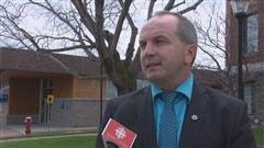 Le maire de Roberval, Guy Larouche