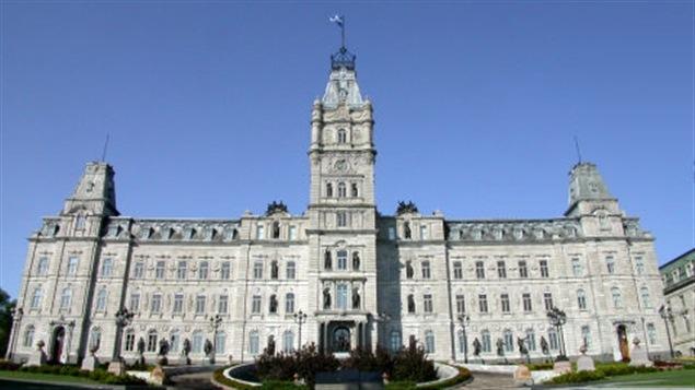 L'Assemblée nationale du Québec.